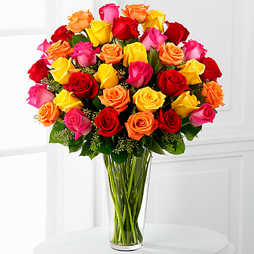 The Bright Spark&trade Rose Bouquet