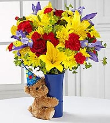 The FTD Big Hug Birthday Bouquet