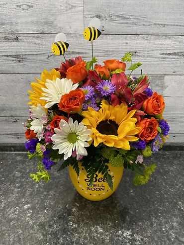 Bee Well Bouquet - Premium