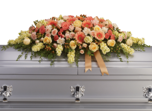 Warmest Remembrance Casket Spray