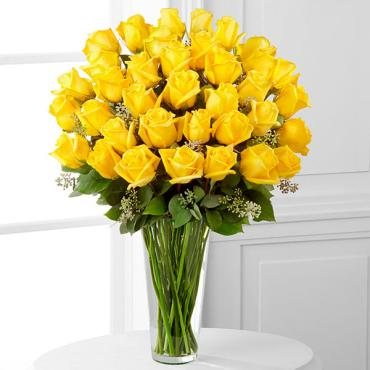 The Yellow Rose Bouquet