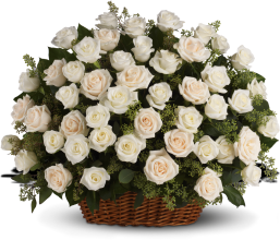 Bountiful Rose Basket